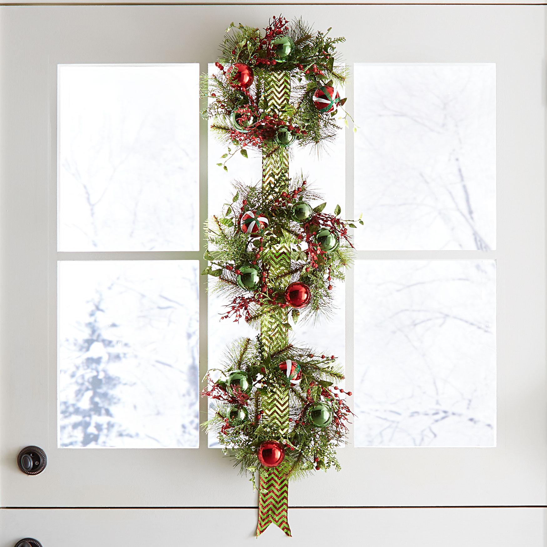 Hanging Wreath Trio, MULTI