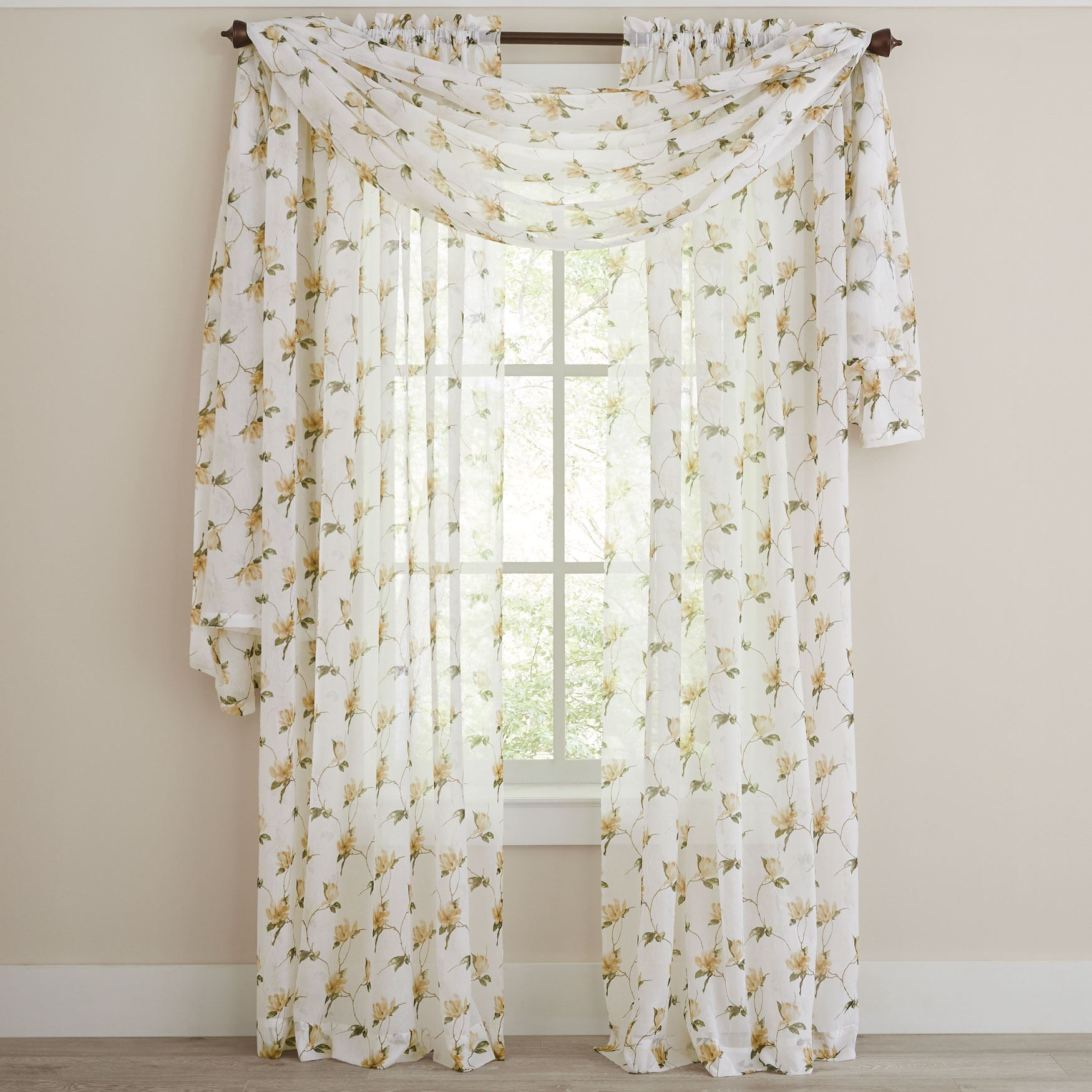 Chancellor Crushed Voile Window Collection,