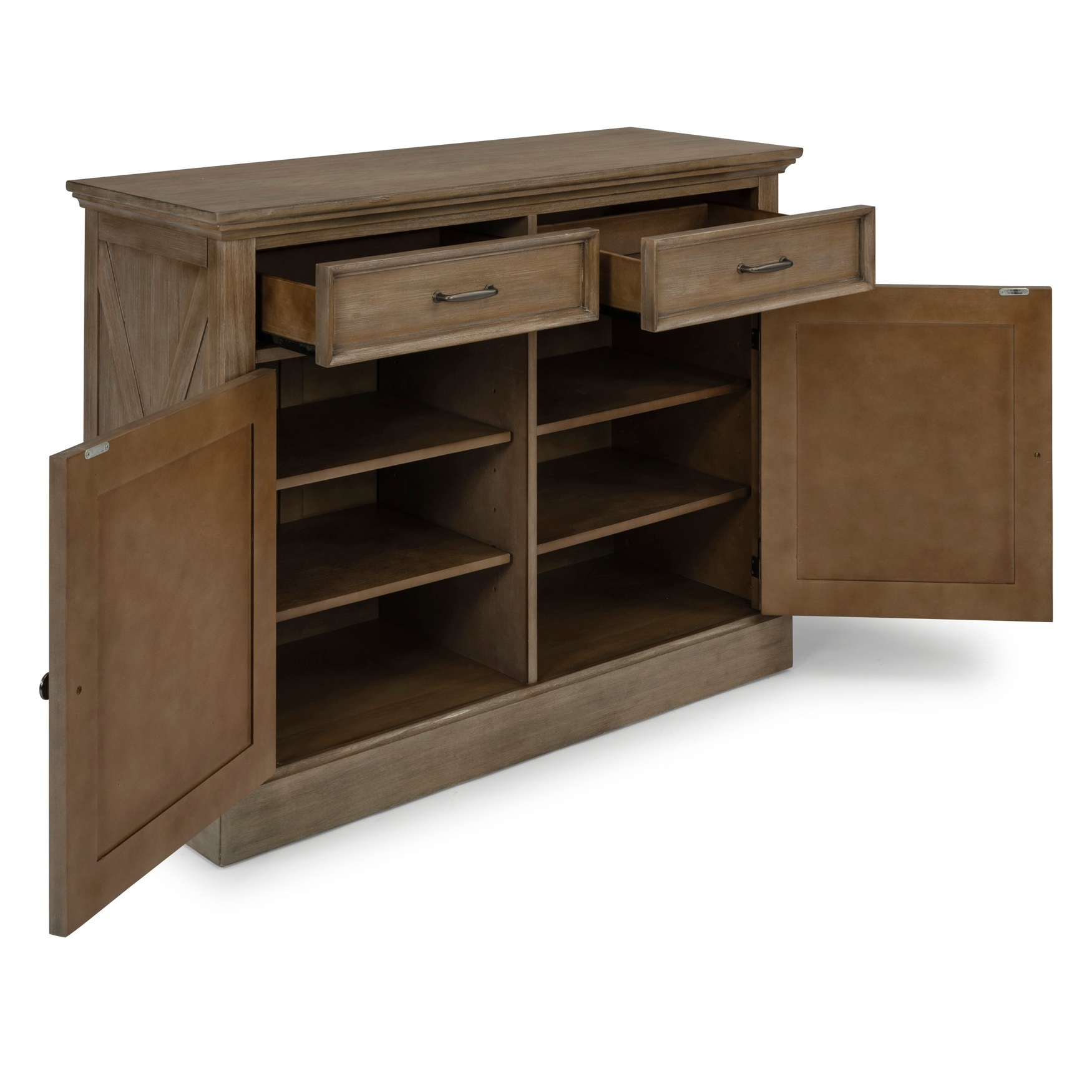 Mountain Lodge Buffet by Home Styles, MULTI GRAY