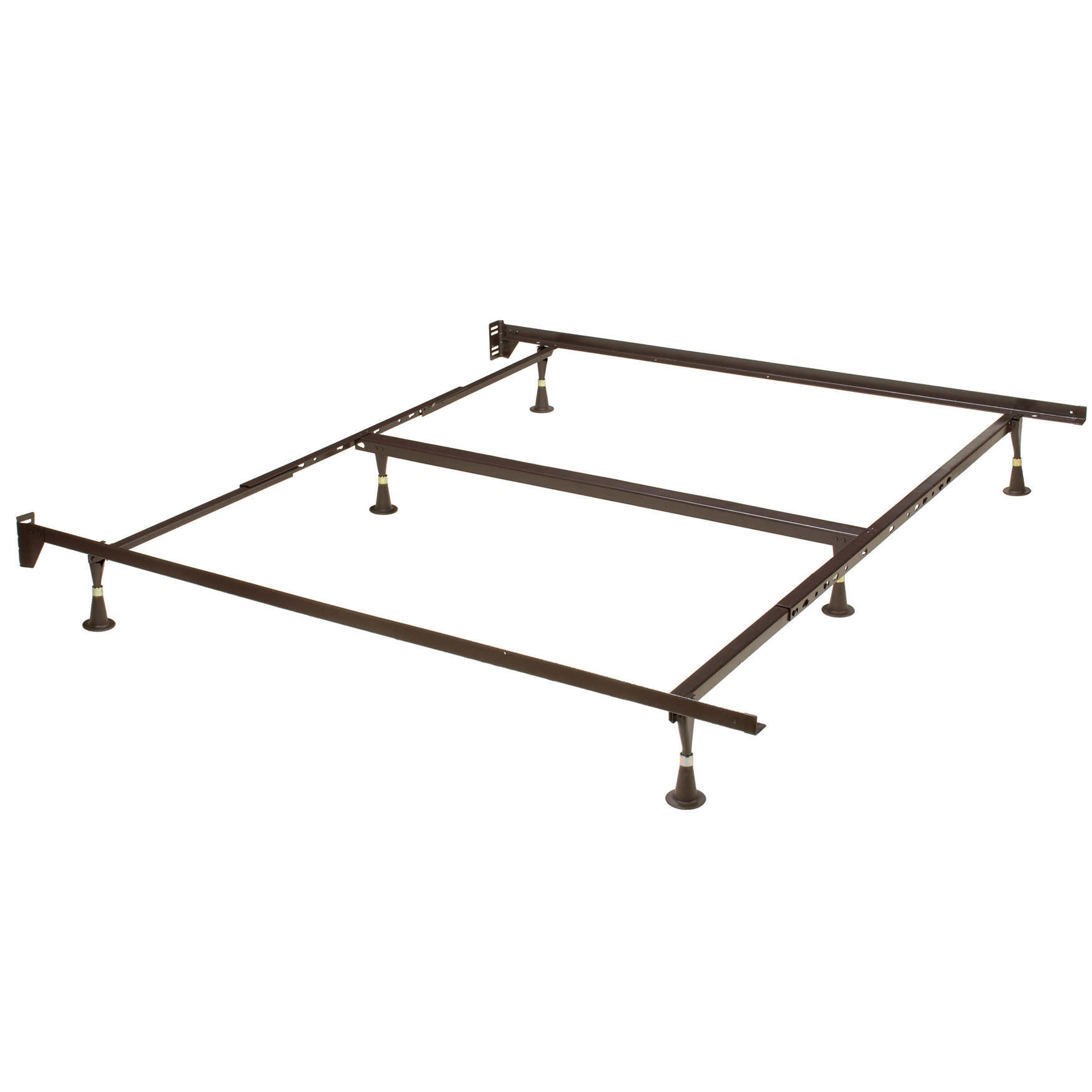 Hillsdale  6 Leg Queen/King Bed Frame, METAL