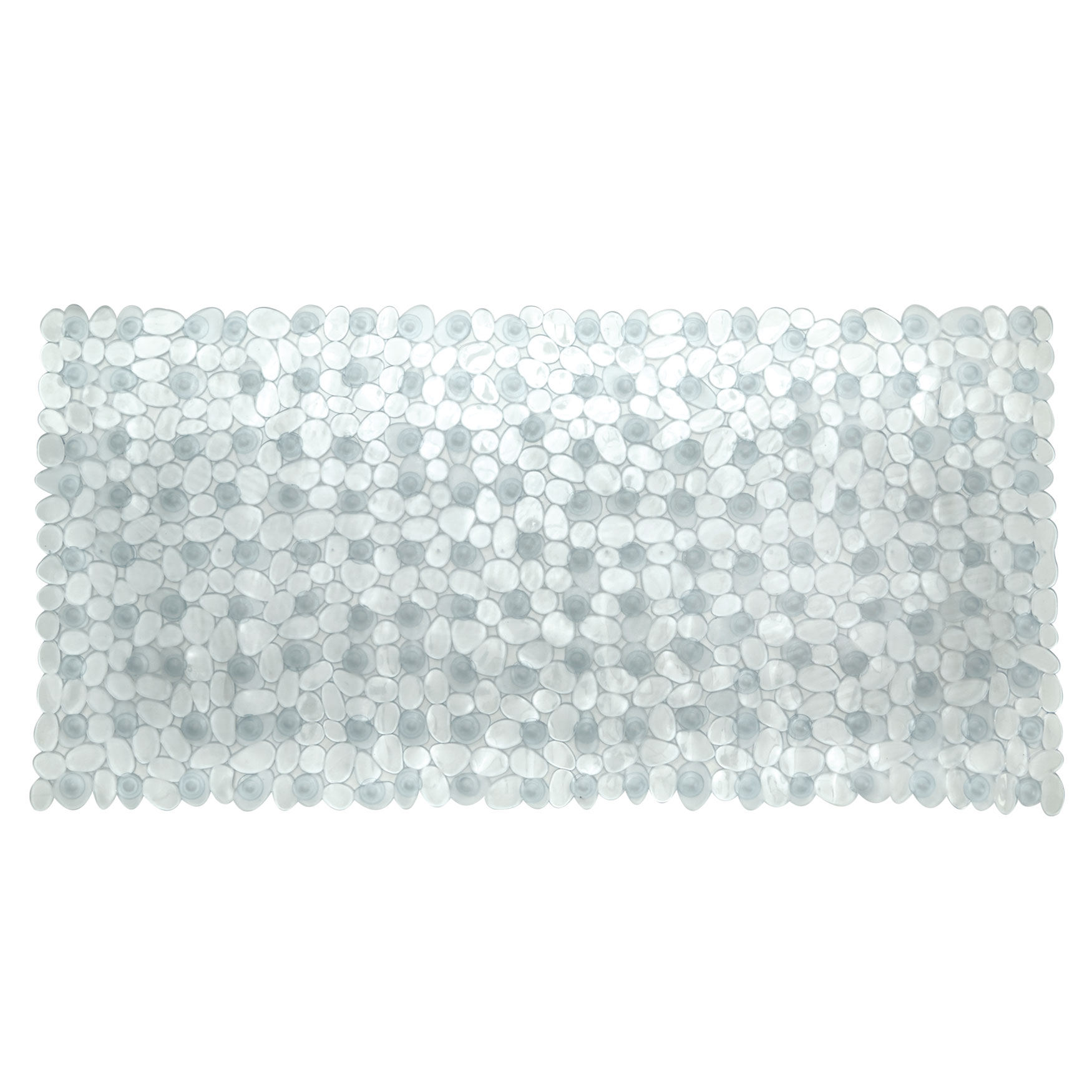 Extra Long Tub Mat With River Stones Design Plus Size Bath Rugs