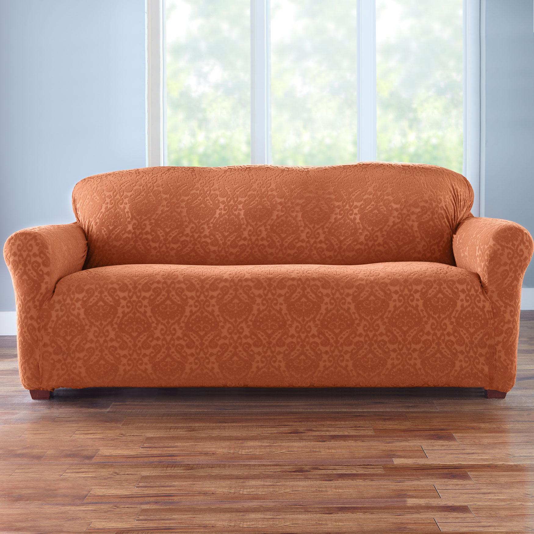 Bh Studio Ikat Stretch Sofa Slipcover