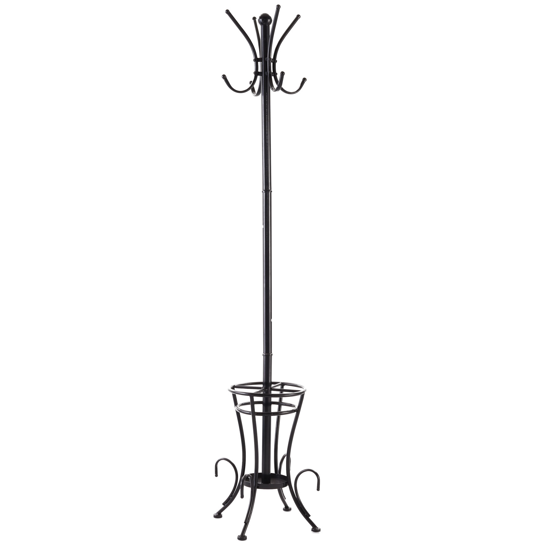 Mia Coat Rack , BLACK