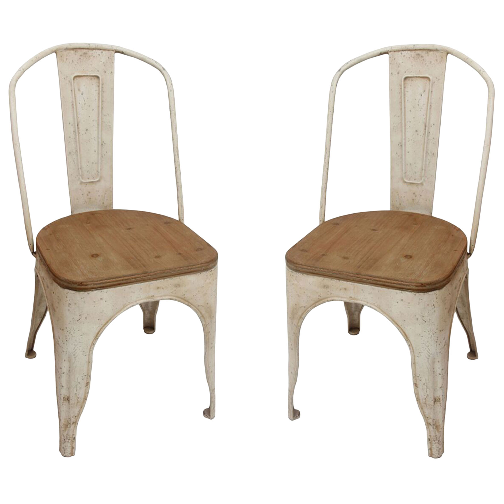 Farmhouse Chairs, WHITE