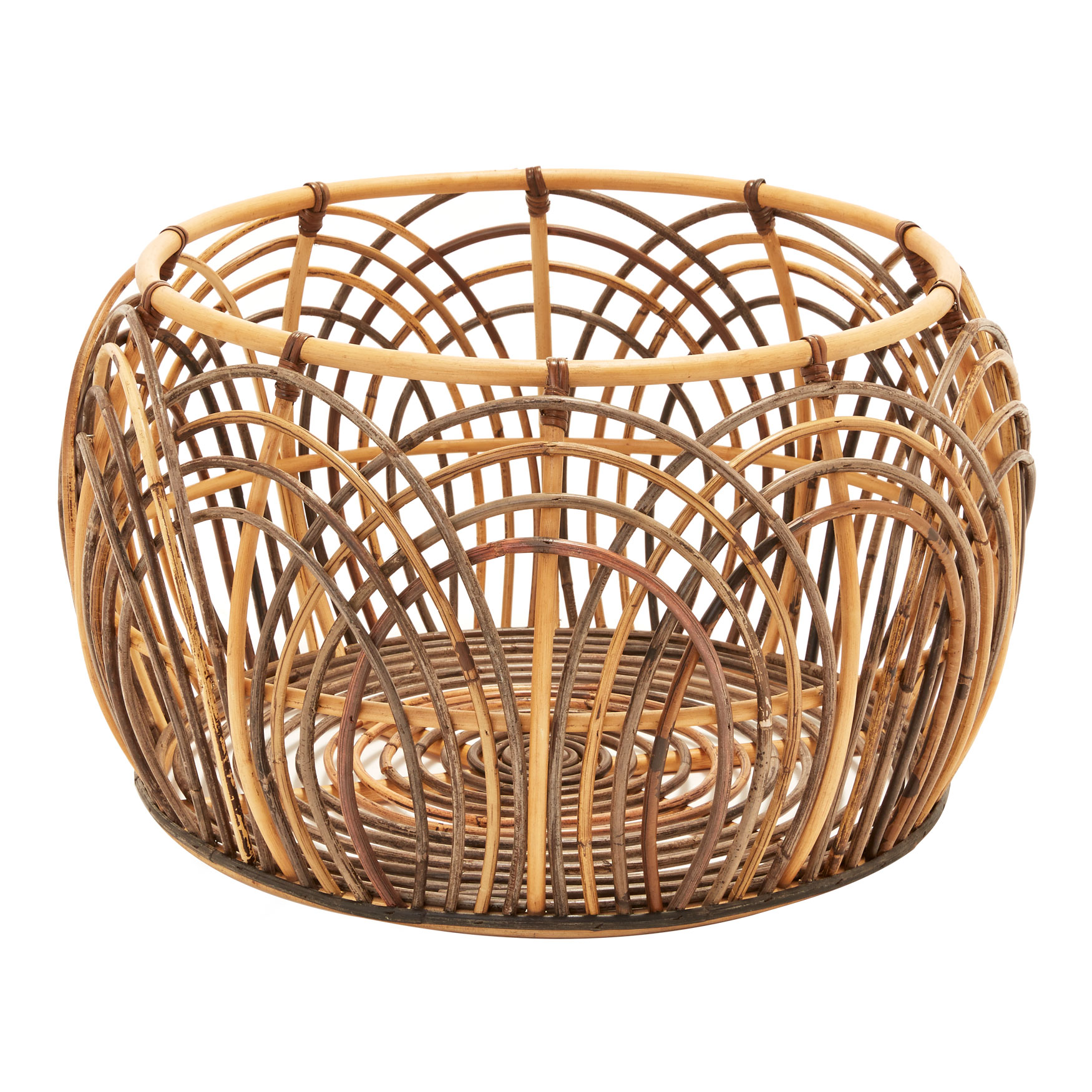 Round Belly Basket, MULTI