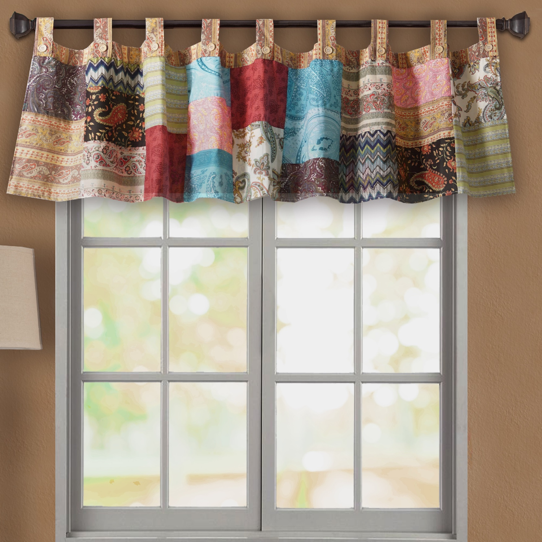 Bohemian Dream Window Valance by Greenland Home Fashions, MULTI
