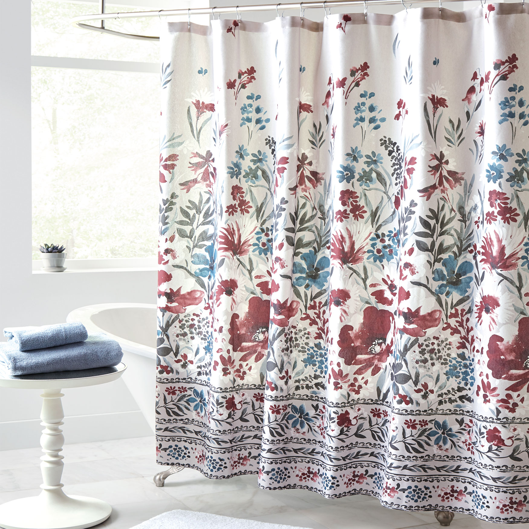 Gracey Shower Curtain, MULTI