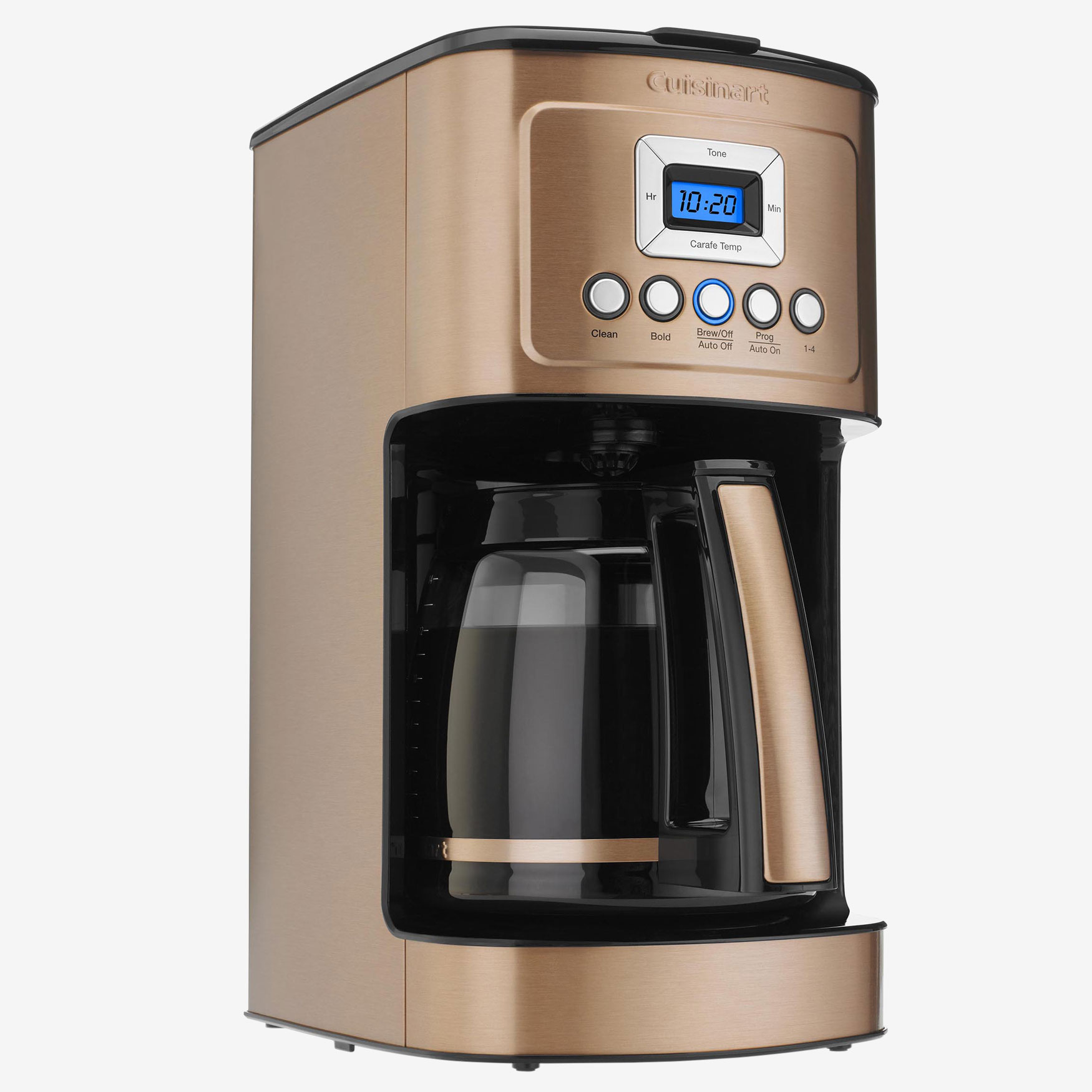 Cuisinart 14-Cup PerfectTemp Programmable Coffee Maker, COPPER