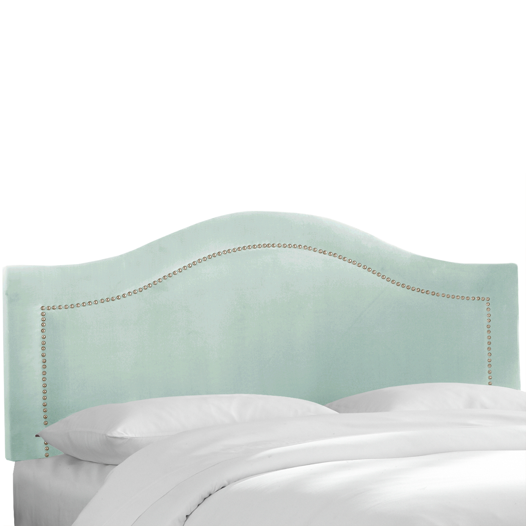 Cermak Inset Nail Button Headboard,