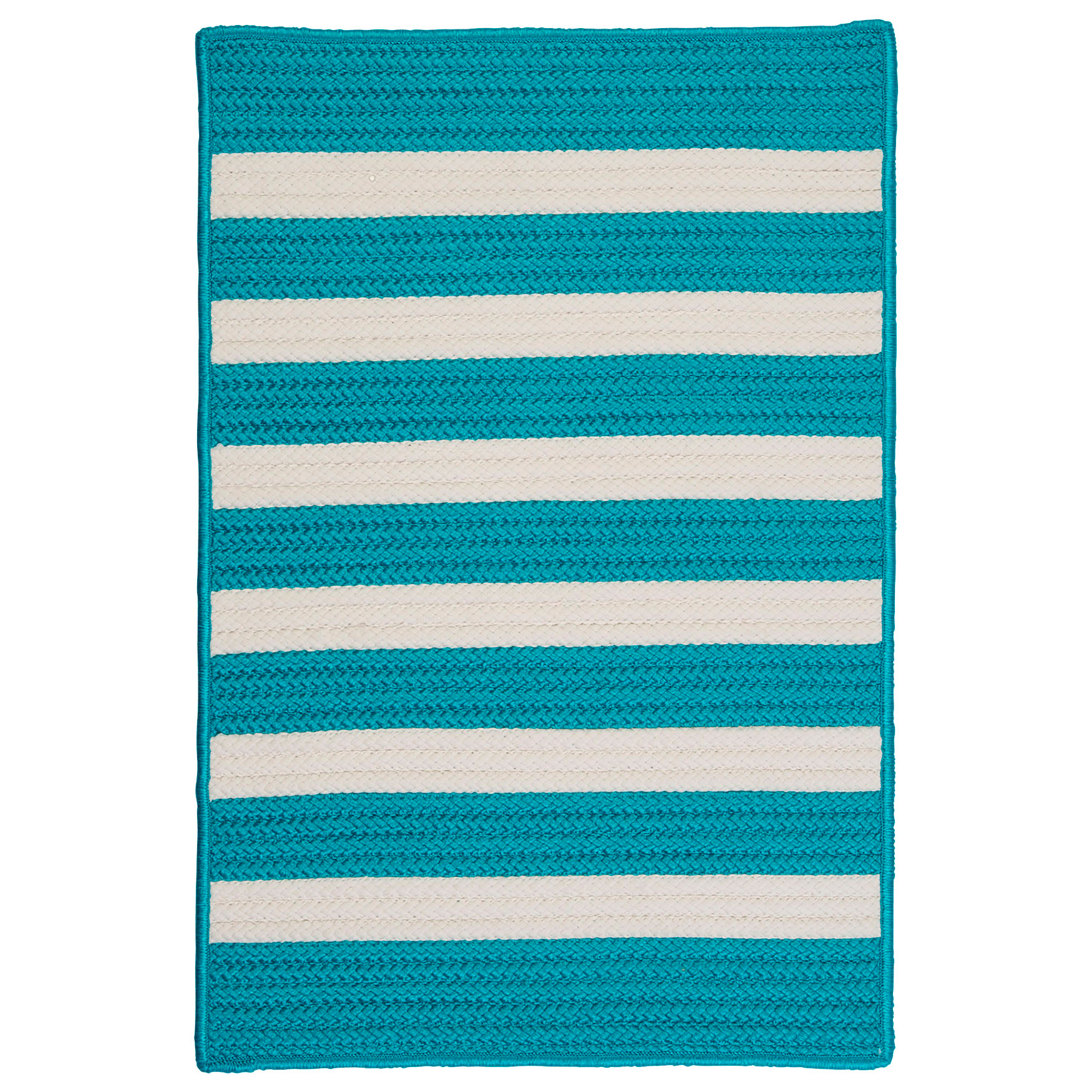 Bay Stripe Aqua Rug,