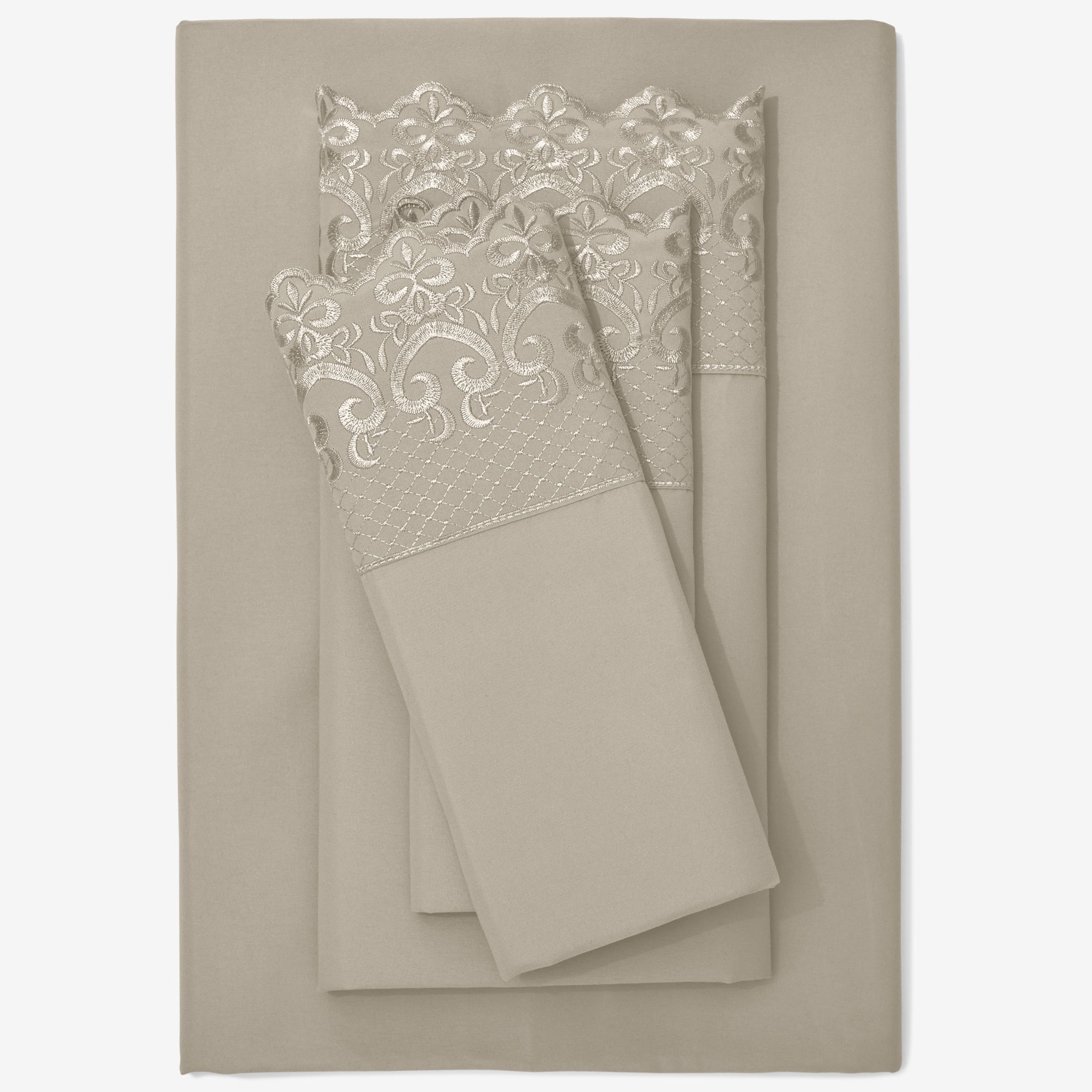 Hotel Embroidery Sheet Set,
