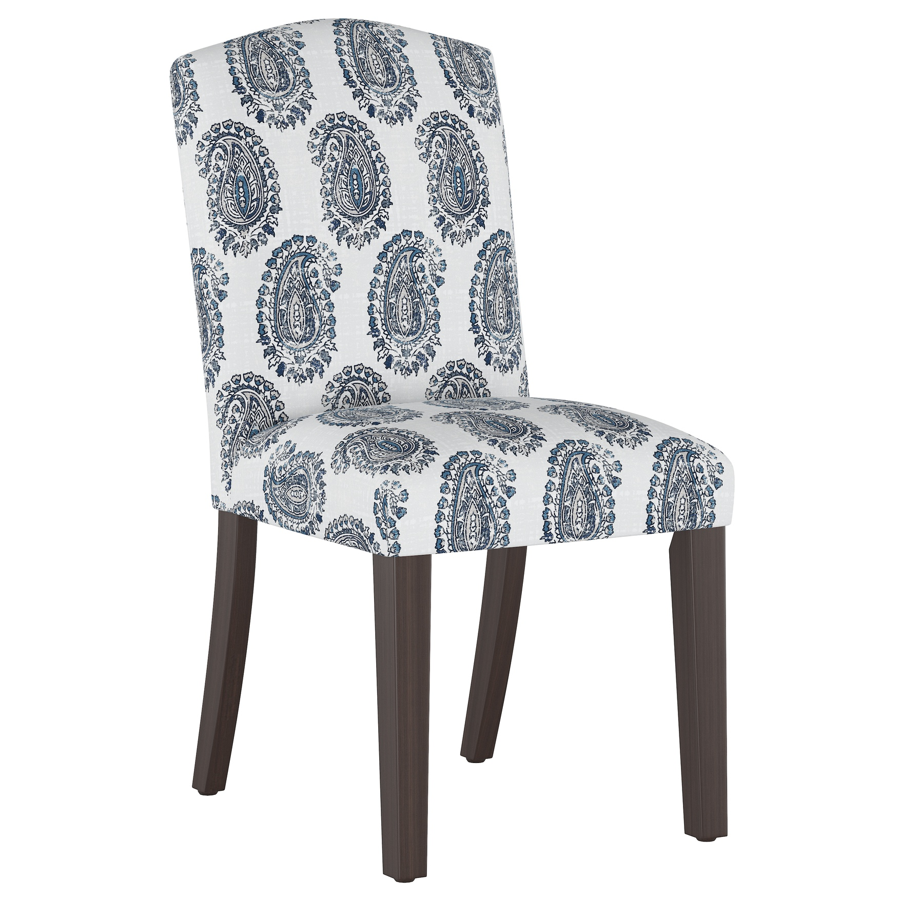 Block Paisley Back Dining Chair,
