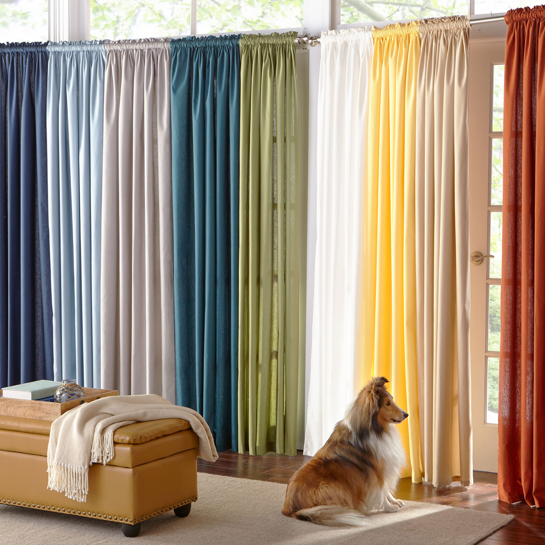 Cotton Canvas Window Collection,