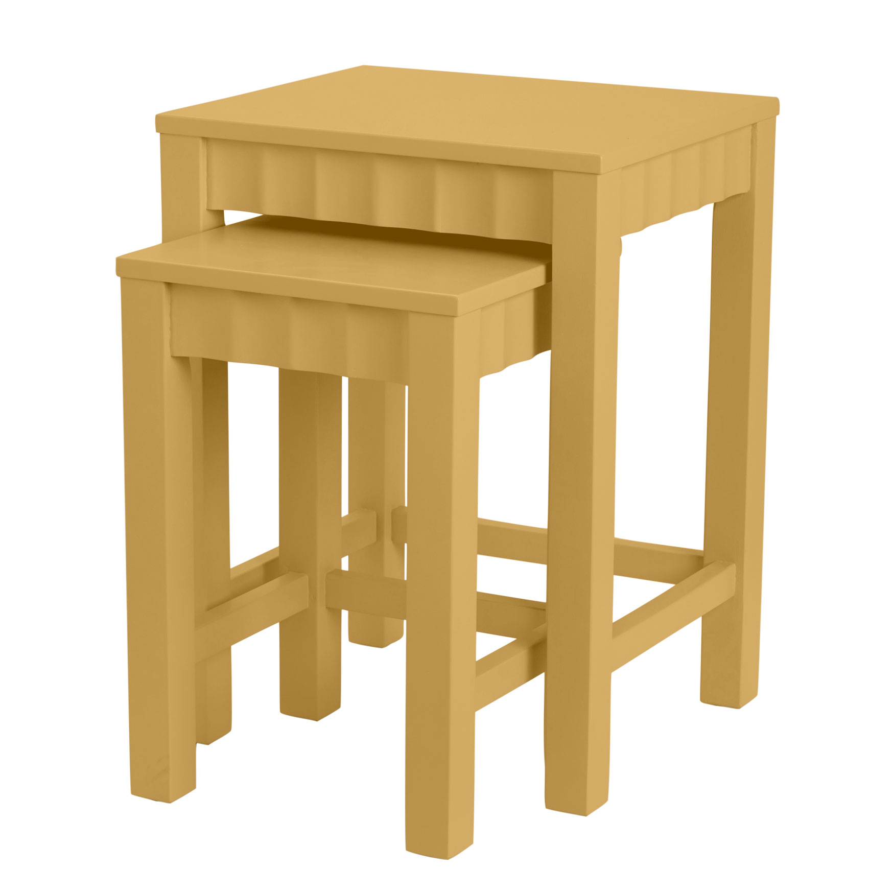 Gigi Nesting Tables, SUNRISE YELLOW