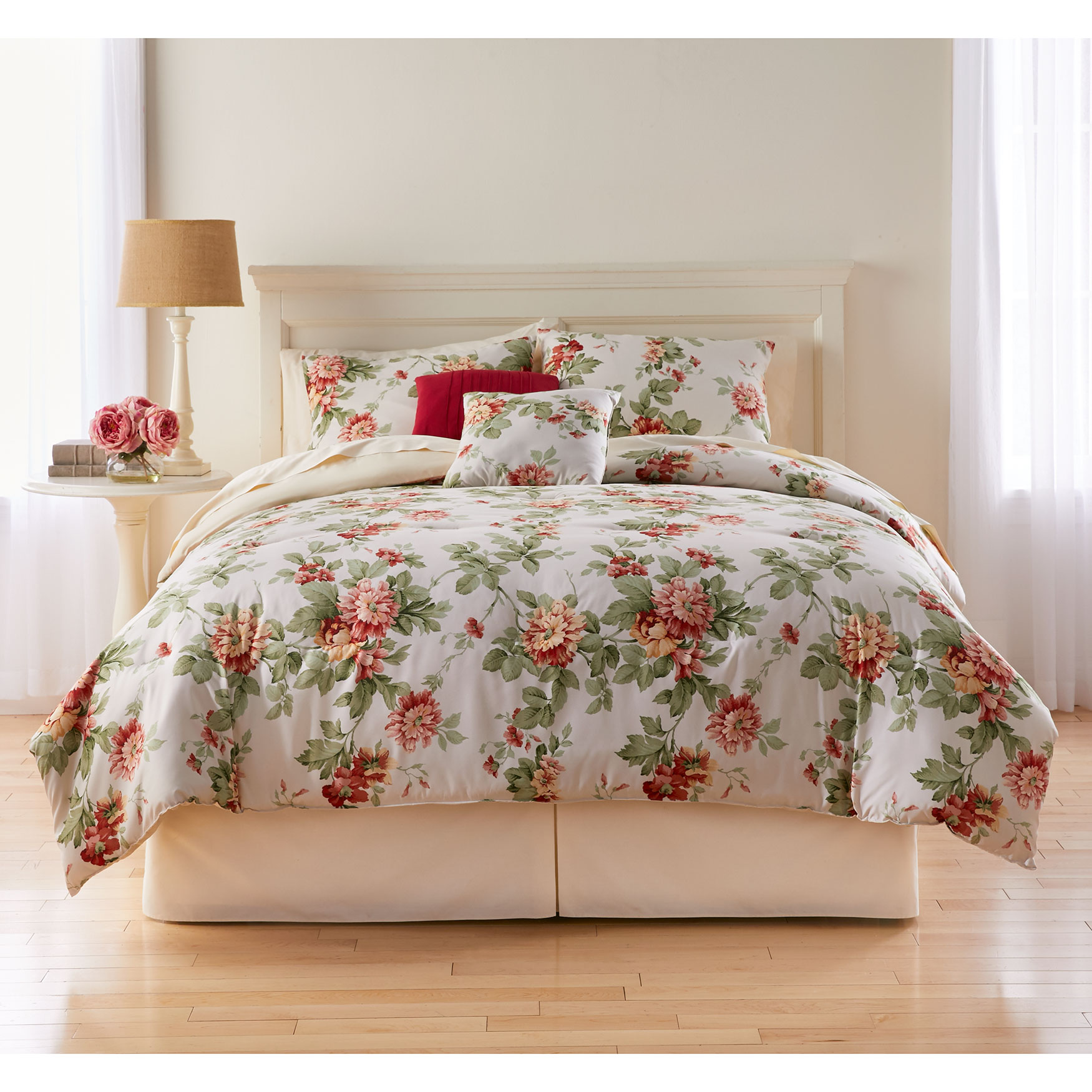 Margaret Printed Reversible 5-Pc. Comforter,