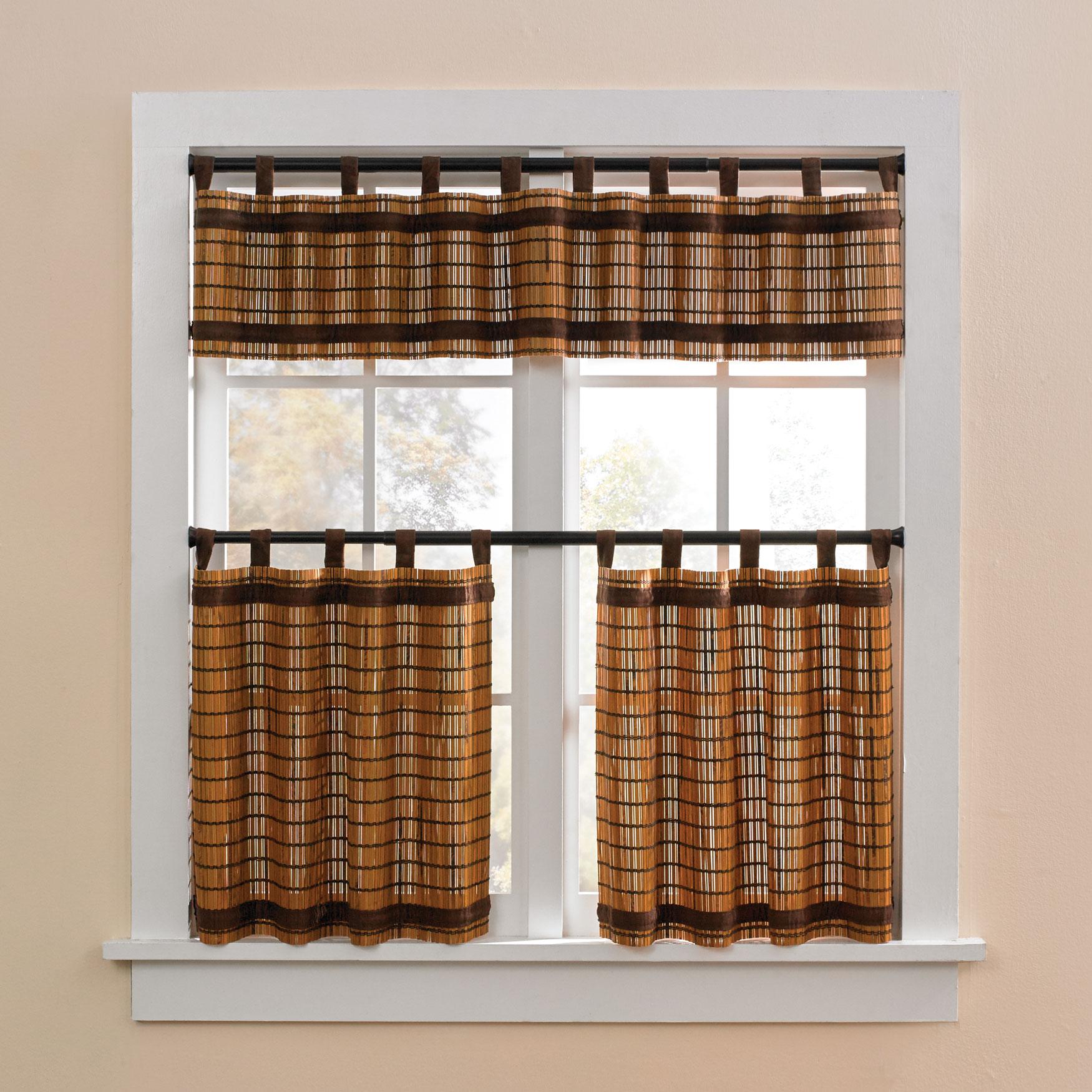 Brylane Home Kitchen: Plus Size Kitchen Curtains