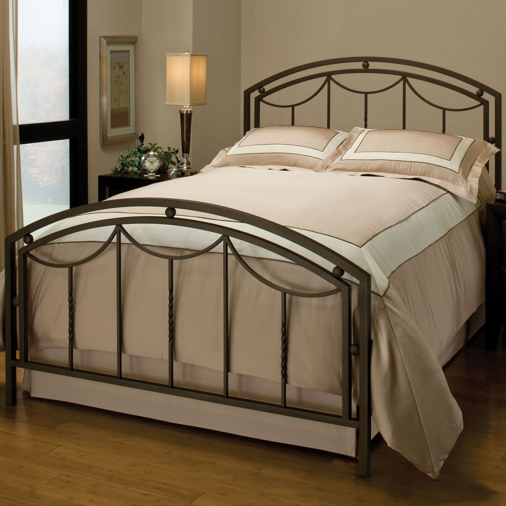 Hillsdale Arlington Bed with Bed Frame,