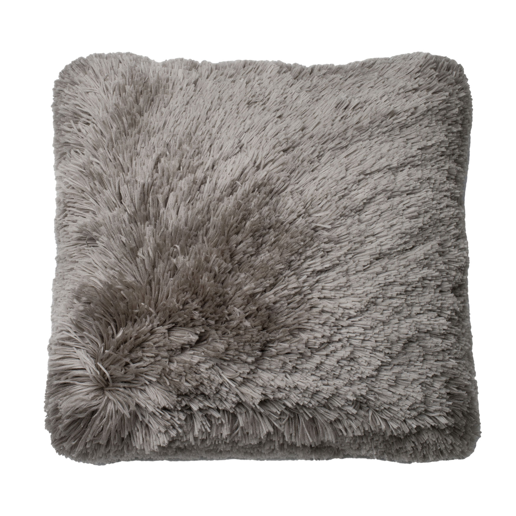 Cozy Plush Decorative Pillow, GREY