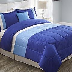 shop color block comforter