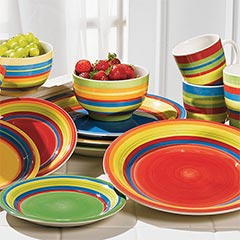 shop 16-PC. Santa Fe dinnerware
