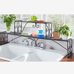 shop 2 tier over sink shelf