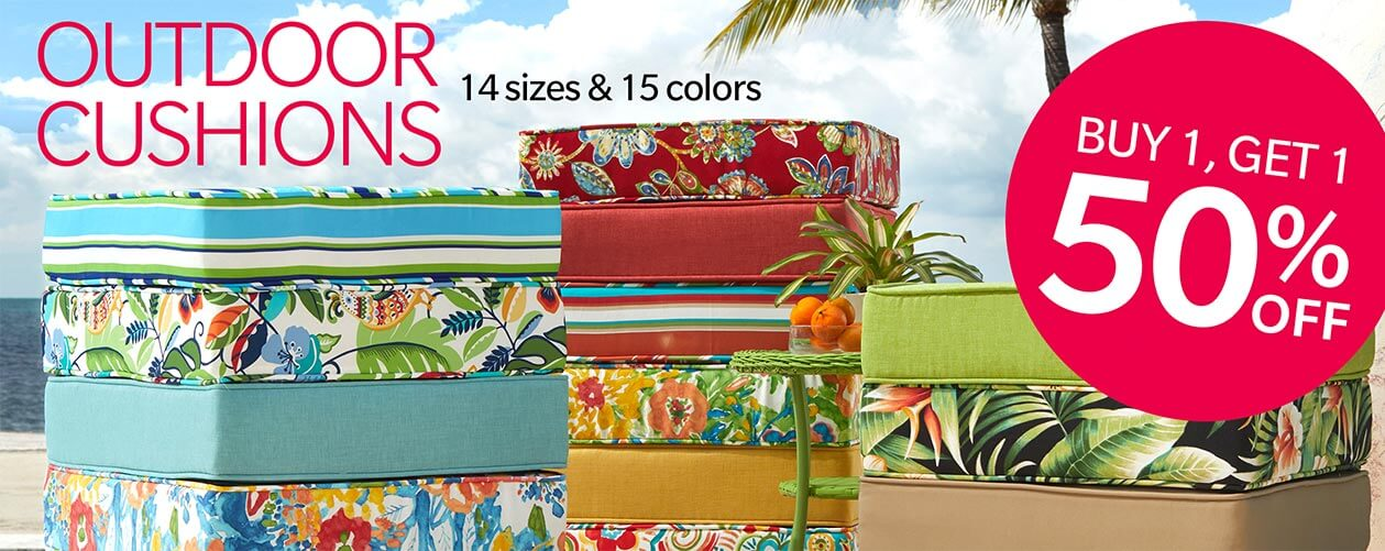 Shop Cushions BOGO