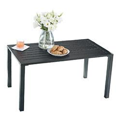 Steel Slat Coffe Table