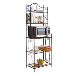 shop baker's rack