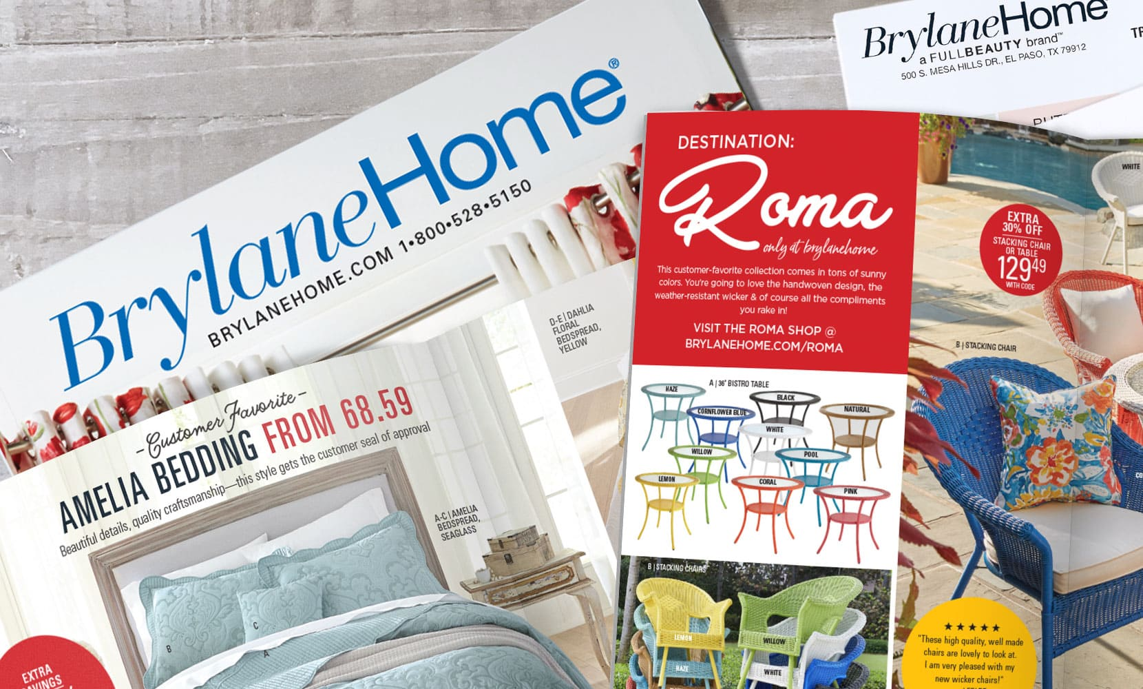 BrylaneHome catalog Quick Order