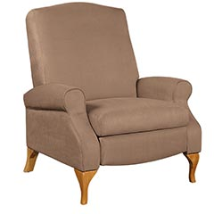 shop Oversized faux sued recliner