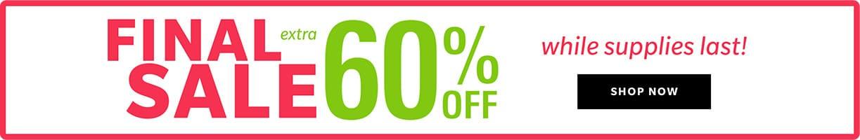 SHOP Final sale