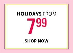 Shop Holidays